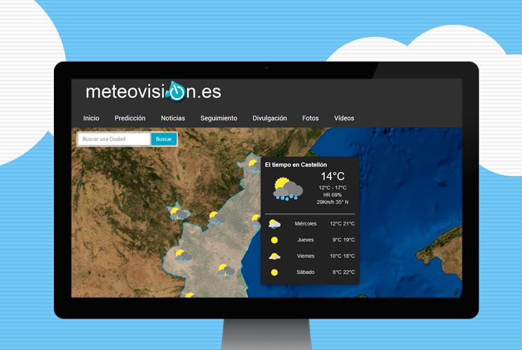 Nueva web de Meteovisión.es