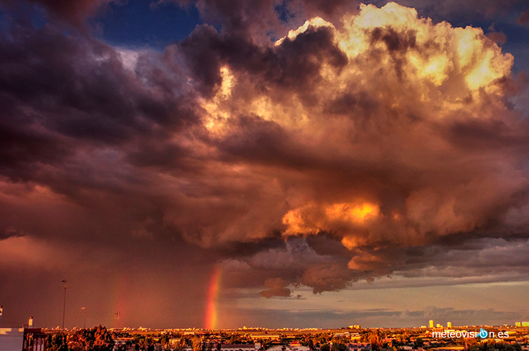 Imagen ganadora del III Concurso de Fotografía Meteorológica de Beniarrés