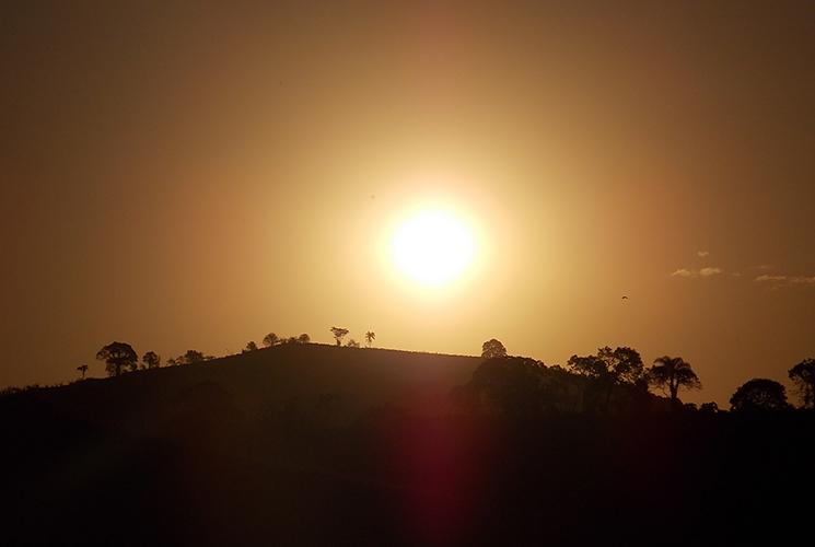 Septiembre caluroso y seco