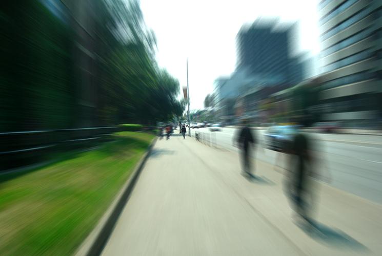 Gente en la calle