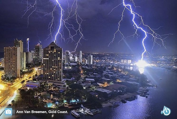 Tormenta en Gold Coast