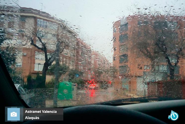 Lluvia en Alaquàs